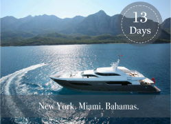 NEW YORK, MIAMI and BAHAMAS CRUISE