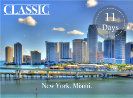 NY and MIAMI CLASSIC PACKAGE