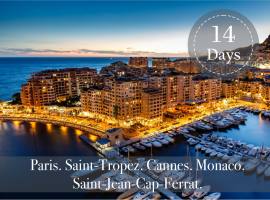 PARIS and CÔTE D'AZUR PACKAGE