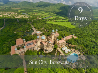 SUN CITY AND BOTSWANA SAFARI