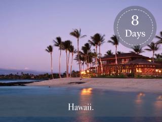 HAWAII FLEXIBLE LUXURY PACKAGE