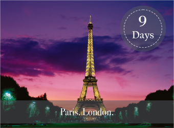 PARIS and LONDON LUXURY PACKAGE